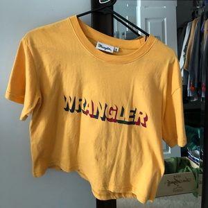 Wrangler printed tee shirt
